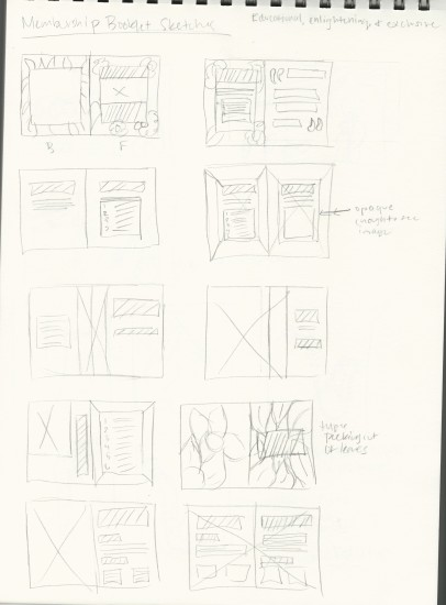 Booklet Sketches
